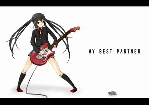 Rating: Safe Score: 32 Tags: animal guitar instrument k-on! nakano_azusa oneove red_eyes school_uniform turtle white User: HawthorneKitty