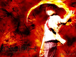 Rating: Safe Score: 12 Tags: all_male death_note male yagami_light User: cloudfog