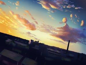 Rating: Safe Score: 14 Tags: building city clouds ho-oh_(artist) nobody original scenic sky sunset User: C4R10Z123GT
