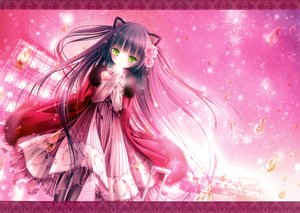 Rating: Questionable Score: 129 Tags: animal_ears catgirl dress loli tinkle User: gnarf1975