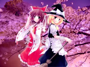Rating: Safe Score: 17 Tags: hakurei_reimu kirisame_marisa touhou User: WhiteExecutor