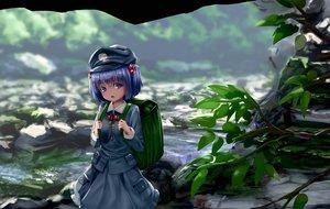 Rating: Safe Score: 34 Tags: blue_eyes blue_hair dress kawashiro_nitori ryosios scenic short_hair touhou water User: mattiasc02