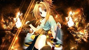Rating: Safe Score: 144 Tags: blonde_hair katana oda_nobuna oda_nobuna_no_yabou sword weapon User: ReXsn