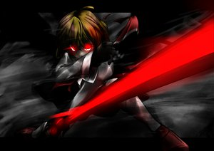 Rating: Safe Score: 87 Tags: ex_rumia red_eyes rumia sword touhou tyourou_god weapon User: Dust