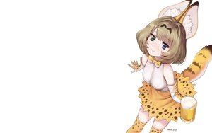 Rating: Safe Score: 23 Tags: animal_ears bicolored_eyes bow breasts brown_hair catgirl cosplay drink elbow_gloves gloves idolmaster idolmaster_cinderella_girls kemono_friends meto31 short_hair signed tail takagaki_kaede thighhighs white User: RyuZU