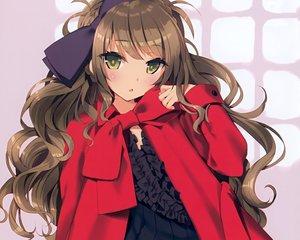 Rating: Safe Score: 108 Tags: brown_hair cropped dress green_eyes original scan tsurusaki_takahiro User: mattiasc02
