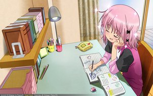 Rating: Safe Score: 64 Tags: hinamori_amu pink_hair shugo_chara vector User: Maboroshi
