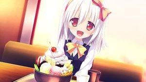 Rating: Safe Score: 122 Tags: alcot food game_cg ice_cream loverec nimura_yuushi school_uniform white_hair yanase_hitomi User: Wiresetc