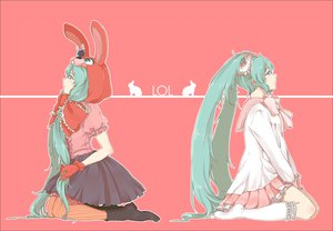 Rating: Safe Score: 48 Tags: hatsune_miku lots_of_laugh_(vocaloid) pink vocaloid User: Tiki