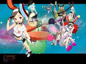 Rating: Safe Score: 6 Tags: animal_ears bunny_ears bunnygirl food getsumen_to_heiki_mina hazemi_nakoru loli tagme tsukuda_mina User: Oyashiro-sama
