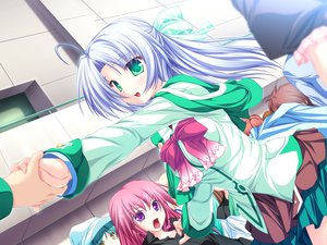 Rating: Safe Score: 13 Tags: alicia_infans bow game_cg green_eyes long_hair magus_tale purple_hair school_uniform tenmaso whirlpool User: Oyashiro-sama