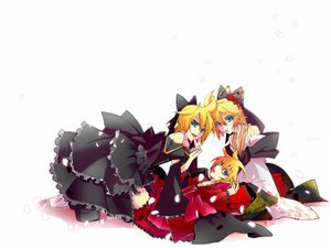 Rating: Safe Score: 19 Tags: haru_aki kagamine_len vocaloid User: HawthorneKitty