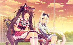 Rating: Safe Score: 230 Tags: animal_ears catgirl chocola_(sayori) nekopara sayori vanilla_(sayori) User: Maboroshi