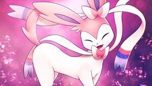 Rating: Safe Score: 19 Tags: aliasing close higa-tsubasa pink pokemon polychromatic purple sylveon User: otaku_emmy