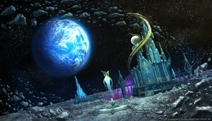 Rating: Safe Score: 22 Tags: building final_fantasy final_fantasy_xiv moon planet scenic space square_enix User: SciFi