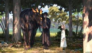 Rating: Safe Score: 42 Tags: animal arizuka_(13033303) horse male original watermark User: luckyluna