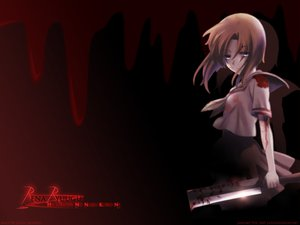 Rating: Safe Score: 18 Tags: black blood higurashi_no_naku_koro_ni red ryuuguu_rena signed watermark User: Oyashiro-sama