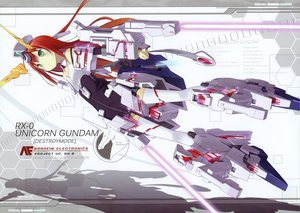 Rating: Safe Score: 82 Tags: green_eyes long_hair mechagirl mobile_suit_gundam poco red_hair thighhighs User: Wiresetc