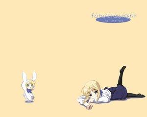 Rating: Safe Score: 44 Tags: animated artoria_pendragon_(all) fate_(series) fate/stay_night saber User: Oyashiro-sama