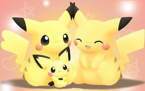 Rating: Safe Score: 73 Tags: pichu pikachu pokemon User: HawthorneKitty