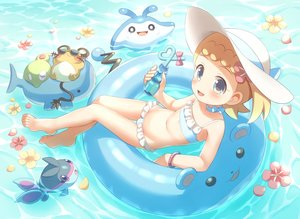Rating: Safe Score: 41 Tags: bikini dedenne eureka_(pokemon) finneon flat_chest loli mantine marill pokemon porocha swim_ring swimsuit wailmer water zygarde User: mattiasc02