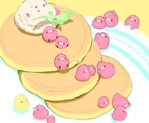 Rating: Safe Score: 10 Tags: cake chai_(artist) cropped food fruit ice_cream leaves nobody original polychromatic signed User: otaku_emmy