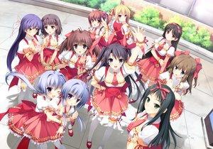 Rating: Safe Score: 21 Tags: asou_mitsuki berrys glasses hashimoto_takashi houkou_yuuka itsumu_aruha izuno_youko izutsu_aya kokonobi maid makinosawa_ena morikubo_yuna nanao_naru satou_haruki satou_natsuki sphere suzuhira_hiro tatsumi_wakaba thighhighs tsukahara_yukino twins waitress User: birdy73