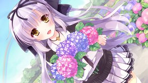 Rating: Safe Score: 108 Tags: flowers lass long_hair moriyama_shijimi necklace seifuku shoujo_shiniki_shoujo_tengoku takagi_sana User: Wiresetc