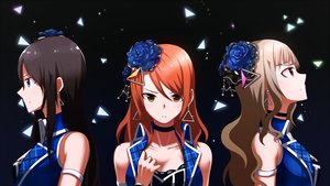 Rating: Safe Score: 30 Tags: black_hair blue_eyes brown_eyes brown_hair flowers houjou_karen idolmaster idolmaster_cinderella_girls kamiya_nao long_hair orange_hair red_eyes rose shibuya_rin tyureu User: BattlequeenYume