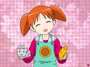 Rating: Safe Score: 10 Tags: azumanga_daioh chiyo_father mihama_chiyo nekokoneko User: Oyashiro-sama