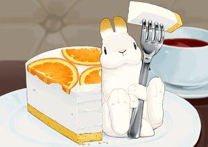 Rating: Safe Score: 11 Tags: animal cake drink food fruit lilac_(pfeasy) nobody orange_(fruit) original rabbit User: otaku_emmy