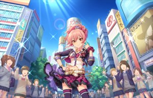 Rating: Safe Score: 44 Tags: annin_doufu idolmaster idolmaster_cinderella_girls_starlight_stage jougasaki_mika User: luckyluna
