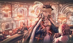 Rating: Safe Score: 47 Tags: blonde_hair bunny hat junpaku_karen long_hair original signed sword twintails weapon User: BattlequeenYume