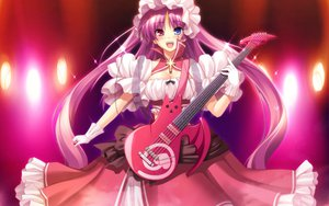 Rating: Safe Score: 41 Tags: bicolored_eyes chua_churam chu_chu_idol chu_x_chu game_cg guitar instrument ozawa_akifumi pink_hair unisonshift User: Wiresetc