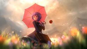 Rating: Safe Score: 71 Tags: aletto-mikan komeiji_satori purple_hair short_hair touhou User: Fepple