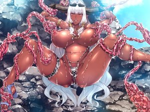 Rating: Explicit Score: 83 Tags: bikini breasts censored dark_skin demon game_cg garter horns long_hair muchimuchi_dekapai_mara_gui_maou-sama_to_onboro_yojouhan_dousei_seikatsu necklace orange_eyes orc_soft phrygia_ornstein pointed_ears sian spread_legs sunglasses swimsuit tentacles wet white_hair User: FormX