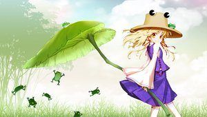 Rating: Safe Score: 68 Tags: animal dress frog hat hong_(white_spider) moriya_suwako touhou User: HawthorneKitty