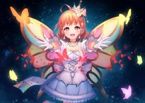 Rating: Safe Score: 56 Tags: braids butterfly crown dress gloves kokkeina_budou love_live!_school_idol_project love_live!_sunshine!! necklace orange_hair pink_eyes short_hair takami_chika wings User: otaku_emmy