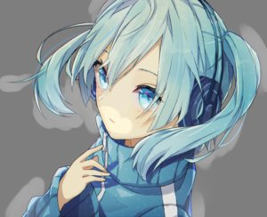 Rating: Safe Score: 135 Tags: blue_eyes blue_hair close ene_(kagerou_project) headdress hitomi555 kagerou_project twintails User: FormX