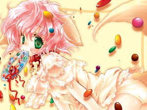 Rating: Questionable Score: 29 Tags: animal_ears candy chocolate doggirl loli lolita_fashion User: Oyashiro-sama