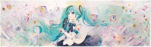 Rating: Safe Score: 52 Tags: hatsune_miku ikushima magical_mirai_(vocaloid) vocaloid User: RyuZU