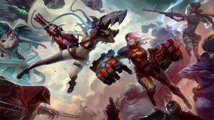 Rating: Safe Score: 119 Tags: aqua_eyes aqua_hair black_hair blitzcrank blue_hair breasts caitlyn choker cleavage dress gloves goggles gray_eyes gun hat instrument jinx_(league_of_legends) league_of_legends long_hair male malphite mask mr.roboto navel ninja petals ponytail red_eyes red_hair robot shen_(league_of_legends) sona_buvelle stockings sword tattoo twintails vi_(league_of_legends) weapon yasuo zed ziggs User: ARteZ