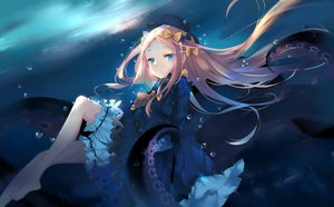 Rating: Safe Score: 87 Tags: abigail_williams_(fate/grand_order) aqua_eyes azur_lane barefoot blonde_hair bloomers bow bubbles dress hat jpeg_artifacts kinkistark loli long_hair teddy_bear tentacles underwater water User: BattlequeenYume