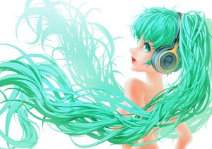 Rating: Safe Score: 31 Tags: breasts dong_gongzi hatsune_miku long_hair twintails vocaloid User: luckyluna
