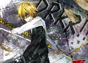 Rating: Safe Score: 39 Tags: durarara!! heiwajima_shizuo User: HawthorneKitty