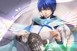 Rating: Safe Score: 7 Tags: cage chain kaito vocaloid yamakawa_umi User: MissBMoon