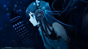 Rating: Safe Score: 119 Tags: akiyama_mio black_hair blue_eyes building city headphones itou_noiji jpeg_artifacts k-on! long_hair night polychromatic watermark User: luckyluna