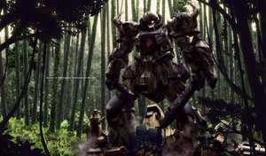 Rating: Safe Score: 104 Tags: forest knife mecha mobile_suit_gundam sword tree weapon yamarata User: ArthurS91