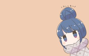 Rating: Safe Score: 41 Tags: blue_eyes blue_hair blush chibi inishie shima_rin short_hair translation_request yuru_camp User: RyuZU
