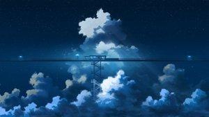 Rating: Safe Score: 35 Tags: clouds hati_98 night nobody original polychromatic scenic sky stairs train User: RyuZU